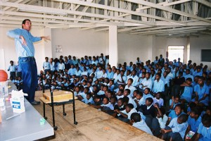 School shows in Africa