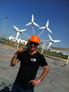 wind turbine helmet